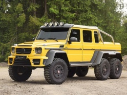 Mercedes-Benz G63 AMG 6&215;6 – тюнинг от Mansory