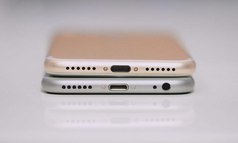 iphone 7 и 6 сравнение фото
